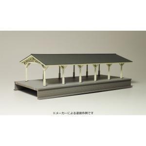 【模型】 明治風大型ホーム (上屋終端部) :IORI工房 未塗装キット N(1/150) 213|sakatsu