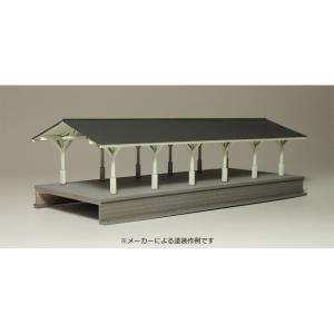 【模型】 明治風大型ホーム (上屋延長部) :IORI工房 未塗装キット N(1/150) 214|sakatsu