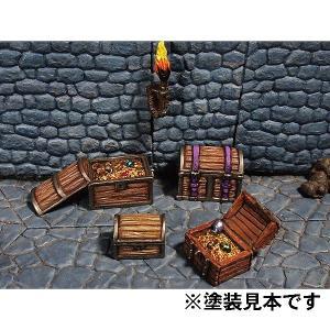 宝箱セット :オーロラモデル 未塗装キット O(1/48)〜1/35スケール Kt-021 sakatsu