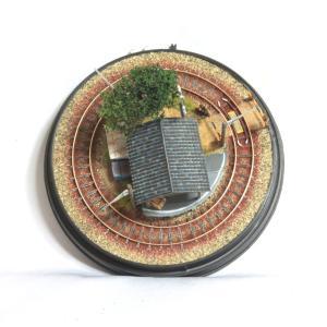 完成ジオラマ ドーム型レイアウト 「小さな貨物駅」 車輌別売 :オー模型工房 塗装済み完成品 N(1/150)サイズ|sakatsu|03