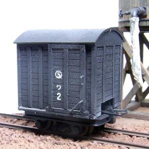 白樺高原鉄道 ワ1 HOn2 1/2 :クラシック ストーリー 未塗装キット HO(1/87) FC-0002|sakatsu