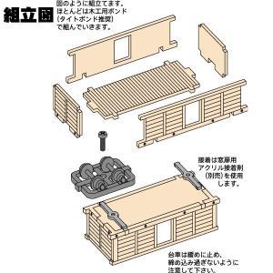 白樺高原鉄道 ト1 HOn2 1/2 :クラシック ストーリー 未塗装キット HO(1/87) FC-0003|sakatsu|03