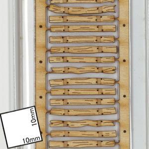 軽便用枕木セット HOn2 1/2(軌間9mm) コード40専用 2本入り :クラシック ストーリー 未塗装キット HO(1/87) PAR-0001|sakatsu|02