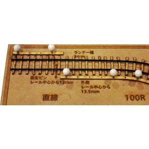 軽便用枕木セット HOn2 1/2(軌間9mm) コード40専用 2本入り :クラシック ストーリー 未塗装キット HO(1/87) PAR-0001|sakatsu|03