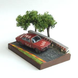 CORSA情景箱 「1965年 夏のシチリア」 :川田崇司 塗装済完成品 1/64|sakatsu