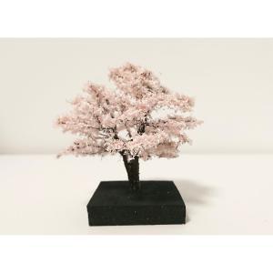 桜 約6.5〜7cm :木草BUNKO 完成品 ノンスケール SA1|sakatsu