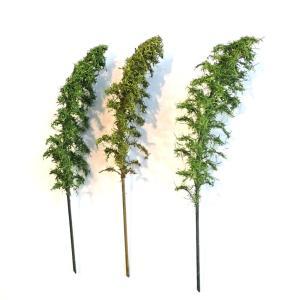 竹林 約12〜13cm 3本入り :木草BUNKO 完成品 HO(1/80) T2|sakatsu