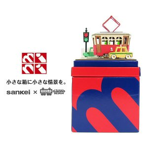 みにちゅあーとmini 【トラムと自動車】 :さんけい キット ノンスケール MP05-15|sakatsu