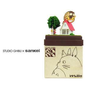 スタジオジブリmini となりのトトロ 【草壁家とネコバス】 :さんけい キット ノンスケール MP07-02|sakatsu