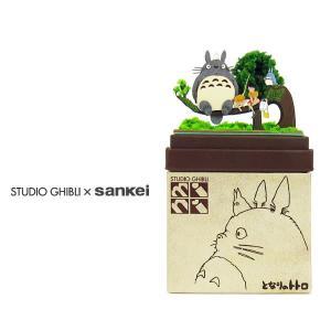 スタジオジブリmini となりのトトロ 【トトロとサツキとメイ】 :さんけい キット ノンスケール MP07-05|sakatsu