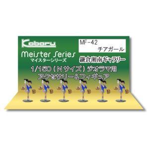 チアガール :こばる 塗装済完成品 N(1/150) MF-42|sakatsu