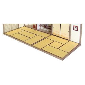 畳セット(古) :エコーモデル ペーパーキット HO(1/80) 233|sakatsu