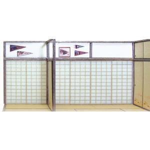 障子セット(B) :エコーモデル ペーパーキット HO(1/80) 237|sakatsu