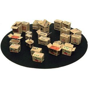 段ボール箱(茶色) :エコーモデル ペーパーキット HO(1/80) 357|sakatsu