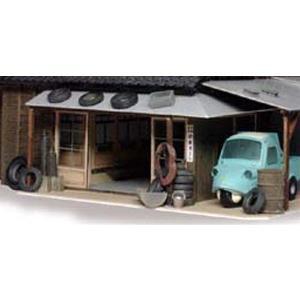 自動車関連備品セット :エコーモデル 未塗装キット HO(1/80) 392|sakatsu