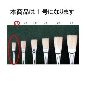 長穂平筆 1号 :西野天祥堂 筆 ノンスケール|sakatsu