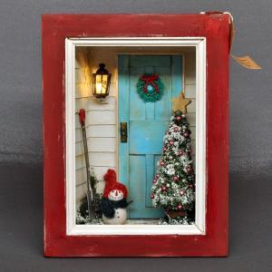 フレーム作品「クリスマス1」 :佐藤千寿子 Sugarhouse 塗装済完成品 1/12スケール|sakatsu