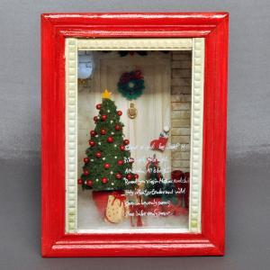 フレーム作品「クリスマス2」 :佐藤千寿子 Sugarhouse 塗装済完成品 1/12スケール|sakatsu