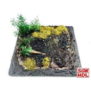 【模型】 湿原キット Bogs :ダイオラマワン キット ノンスケール 1003|sakatsu