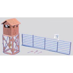 監視塔 :アイコム 塗装済み組み立てキット 1/144・N(1/150) EP-17
