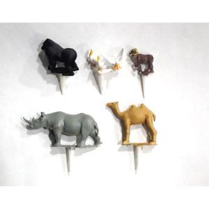 園芸ジオラマ作成用ミニチュア 動物セットF :アイコム 塗装済完成品 ノンスケール GM6P|sakatsu