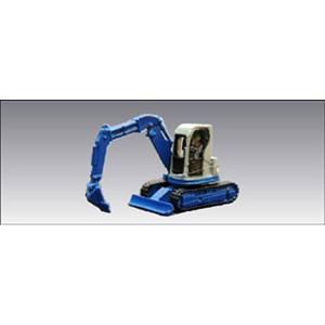 小型油圧シャベル 1 ・ 青 :アイコム 塗装済完成品 N(1/150) MLV-6017|sakatsu