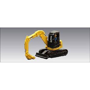 小型油圧シャベル 2 ・ 黄 :アイコム 塗装済完成品 N(1/150) MLV-6018|sakatsu