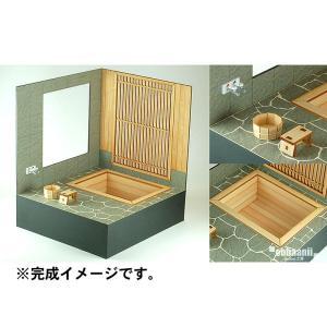 檜の露天風呂 :コバーニ 未塗装キット 1/12スケール WZ-012|sakatsu