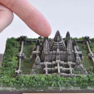 特別完成品 アンコールワット −カンボジア− :ばーちゃわーるど 塗装済完成品 1/2400 VM-012F|sakatsu|04