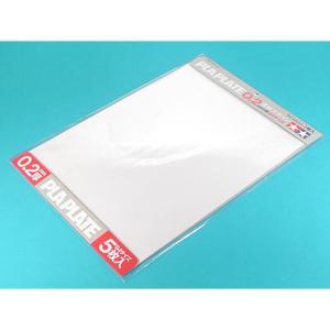 透明プラバン0.2mm厚 B4サイズ(5枚) :タミヤ 素材 70126