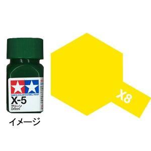 タミヤカラー エナメル X-8 レモンイエロー :タミヤ つやあり塗料 ノンスケール 80008|sakatsu