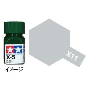 タミヤカラー エナメル X-11 クロムシルバー :タミヤ つやあり塗料 ノンスケール 80011|sakatsu