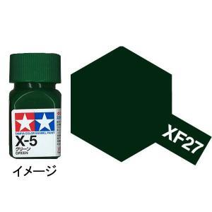 タミヤカラー エナメル XF-27 ブラックグリーン :タミヤ つやなし塗料 ノンスケール 80327|sakatsu