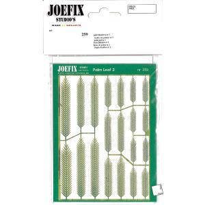 1/48-1/87 椰子の葉 #2 :ジョーフィクス 素材 1/87〜1/48スケール JF259|sakatsu
