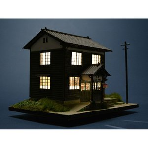 三波簡易郵便局 :匠ジオラマ工芸舎 塗装済完成品 HO(1/80) 1027|sakatsu|05