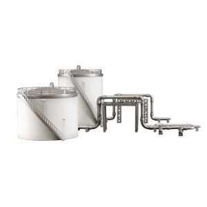 工業地帯A(貯蔵タンク) :PLUM 未塗装キット ノンスケール PP079|sakatsu