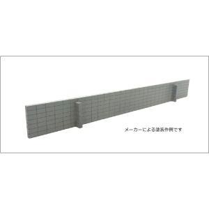 ブロック塀垂直積み 穴なしキット 2個入り :ポポプロ 未塗装キット HO(1/80) MS-109 sakatsu