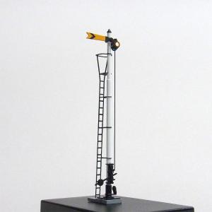 1/80 国鉄型腕木式信号機 「遠方信号機」 <可動タイプ> :工房ナナロクニ 塗装済完成品 1/80(HO) 1048 sakatsu