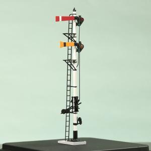 1/80 <可動式> 寒冷地仕様 腕木信号機 「場内/通過信号機 」主本線用 :工房ナナロクニ 塗装済完成品 1/80(HO) 1072 sakatsu
