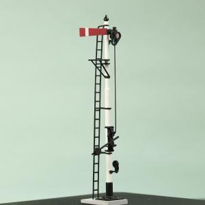 1/80 <可動式> 寒冷地仕様 腕木信号機 「出発信号機 」副本線用 :工房ナナロクニ 塗装済完成品 1/80(HO) 1073 sakatsu