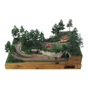 森林鉄道 小型レイアウト :工房ナナロクニ 塗装済完成品 1/87 3010|sakatsu