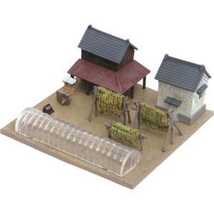 建物コレクション006-2 農家F2 農家を彩る小物たち :トミーテック 塗装済みキット N(1/150) 214434 sakatsu