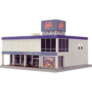 建物コレクション113 スーパーマーケットA :トミーテック 塗装済みキット N(1/150) 244820 sakatsu