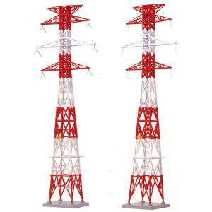 情景小物084-2 送電鉄塔A2 逆三角形型 :トミーテック 塗装済みキット N(1/150) 244844 sakatsu