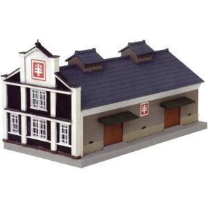 建物コレクション118 味噌蔵C 〜貯蔵庫〜 :トミーテック 塗装済みキット N(1/150) 249849 sakatsu