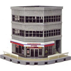 建物コレクション133 交差点の建物A :トミーテック 塗装済みキット N(1/150) 256267 sakatsu