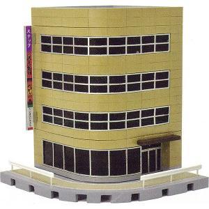 建物コレクション134 交差点の建物B :トミーテック 塗装済みキット N(1/150) 256274 sakatsu