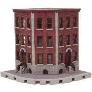 建物コレクション135 交差点の建物C :トミーテック 塗装済みキット N(1/150) 256281 sakatsu
