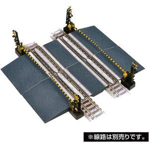 情景小物115 踏切D :トミーテック 塗装済みキット N(1/150) 258667 sakatsu