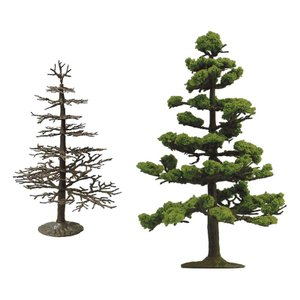 ザ・樹木102 杉(すぎ) :トミーテック 塗装済みキット N(1/150) 266440|sakatsu
